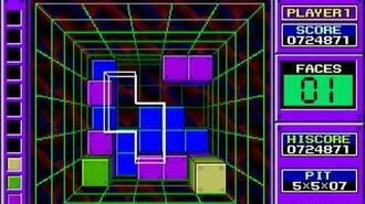 Arcade Longplay -263- Block Out