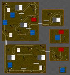 Micro Machines - Pencil Plateaux