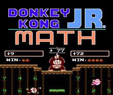TM WiiUVC DonkeyKongJrMath