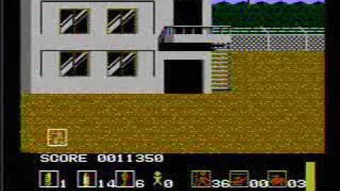 Operation Wolf - NES Gameplay