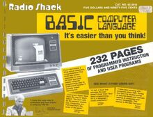 Bookcover-Basic Computer Language It's Easier Than You Think! (1978)(Radio Shack)