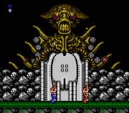 Contra (NES version screenshot)