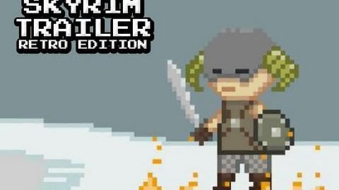 Skyrim Trailer - Retro Edition