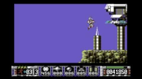 Turrican (C64) gameplay footage