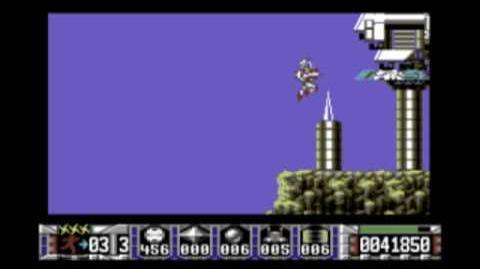 Turrican (C64) gameplay footage