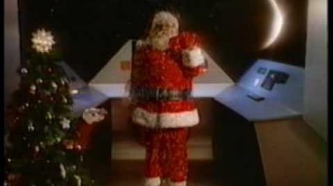 Atari Christmas TV Spot - Santa in Space! (v1) Twas the Night before Christmas - Atari 2600 & 5200