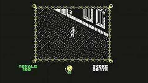 C64 longplay the Great Escape walktrough 1