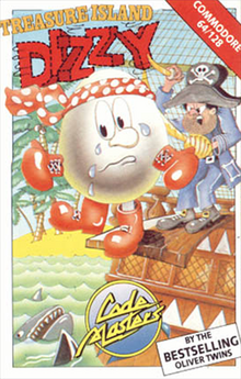 Treasure Island Dizzy Coverart