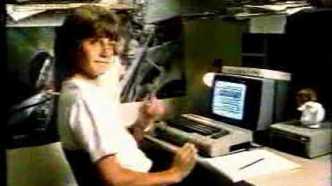 Commodore 64 commercial (1985)