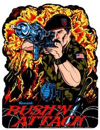 Rush'n Attack artwork 1