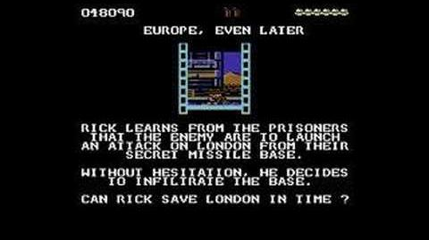 C64 Longplay - Rick Dangerous (part 2 2)