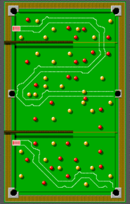 Micro Machines - The Cue-Ball Circuit