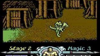 Golden Axe - Commodore 64 Playthrough 1 2