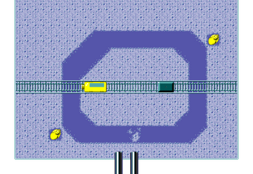 Micro Machines - Qualifying Race