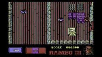 Rambo III Commodore 64 Level 1