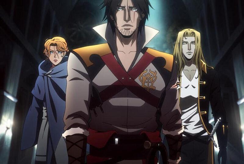 best anime 2017 Castlevania
