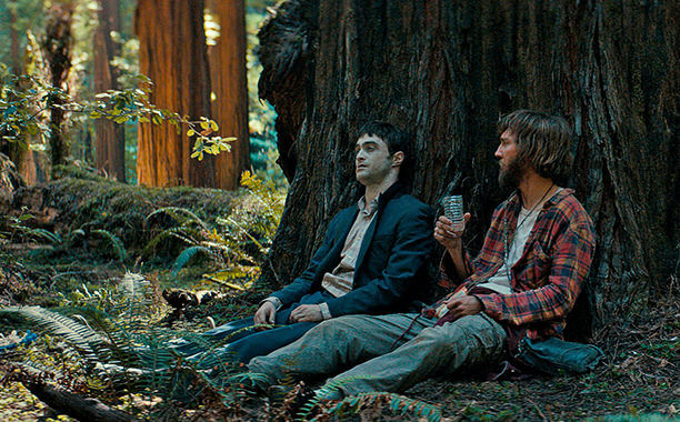 still from Swiss Army Man daniel radcliffe