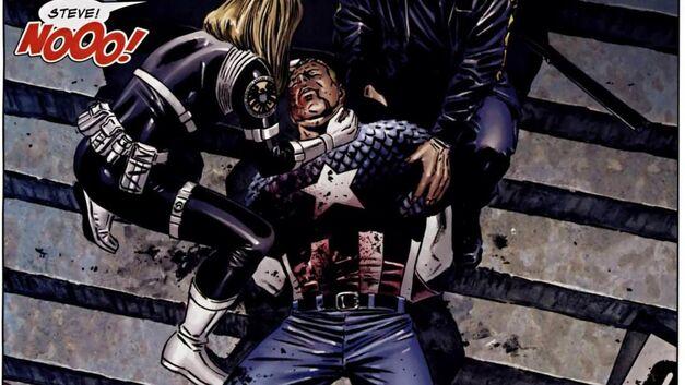 captain america death