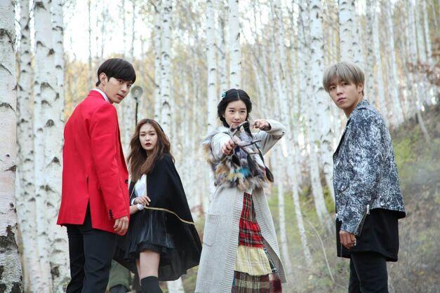 Moorim School k-drama