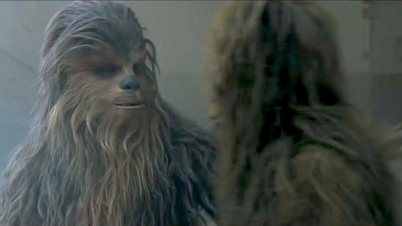 Chewbacca-wookiees