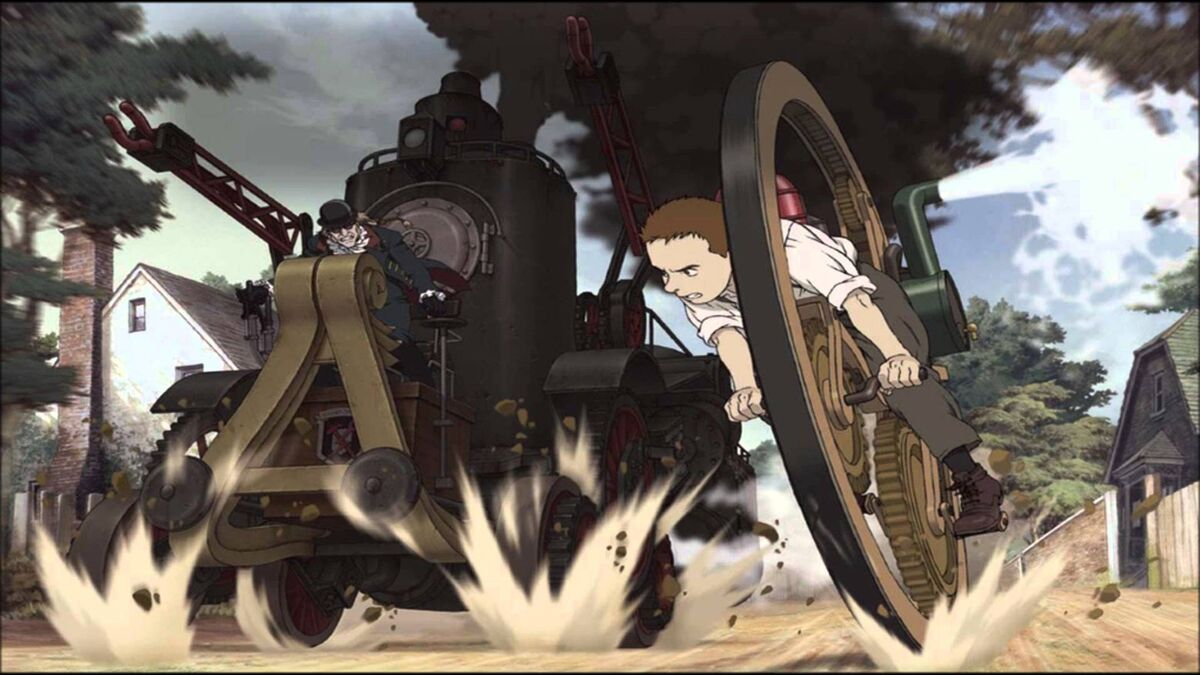 anime to watch with your grand parents Steamboy