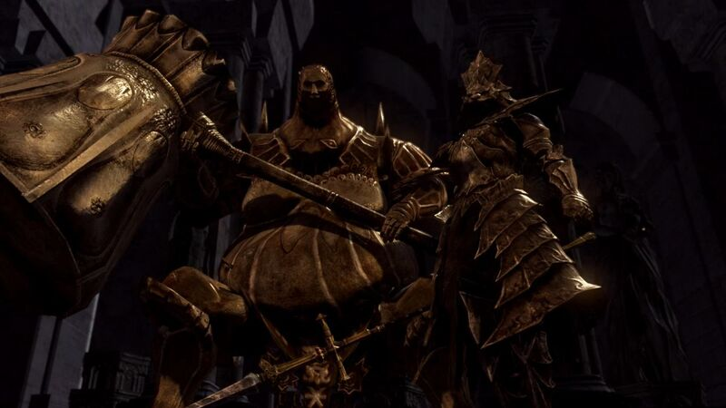 Ornstein Smough boss fight