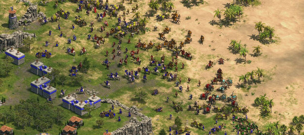 Age of Empires: Definitive Edition-Fight