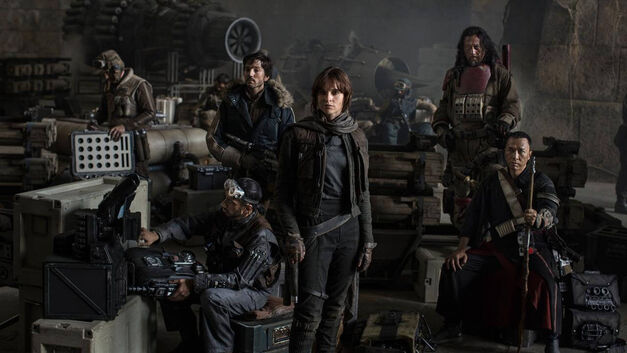The Rebels of Rogue One: A Star Wars Story