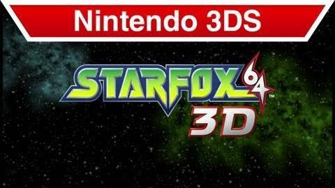 Nintendo 3DS - Star Fox 64 3D E3 Trailer