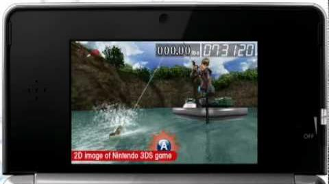 Ultimate Bass Fishing 3D trailer (3DS)