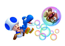 New super mario bros u toad