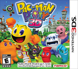 Pac man party 3d boxart