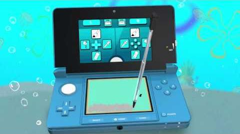 SpongeBob SquigglePants - 3DS Trailer