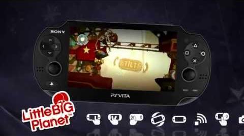 Little Big Planet PS Vita Official HD Trailer
