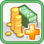 Tax Income Research Icon