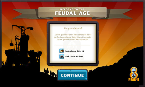 Age up screen