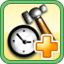 Decrease Building Time Research Icon (Yellow)