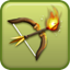Flaming Archer Icon
