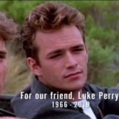 In Memoriam of Luke Perry at the end of <a href=