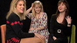 90210 Girls 5-14-92 TV interview with Color Me Badd
