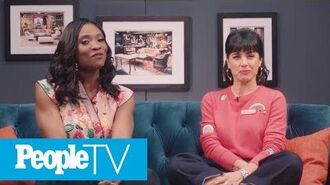 Constance Zimmer Freaks Out While Reminiscing Over '90210' Cameo PeopleTV Entertainment