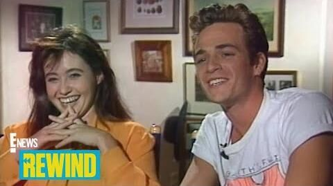 "E!'s First ""Beverly Hills, 90210"" Set Visit Rewind E! News"