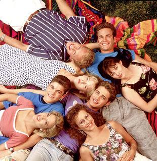 beverly hills 90210 full cast