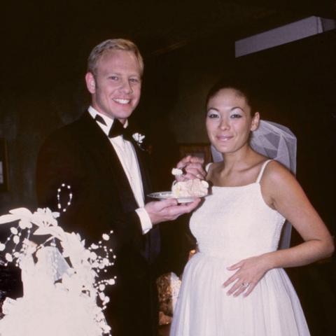 Steve & Janet's wedding reception