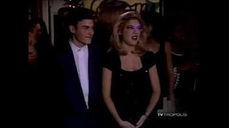 Beverly Hills, 90210 — David and Donna's first date