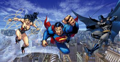 Batman vs. Superman & Wonder Woman & Lex Luthor