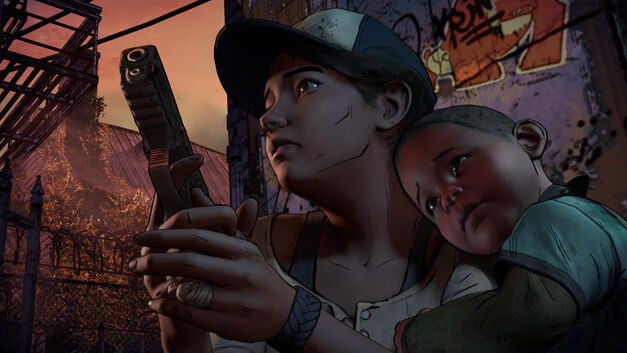 Clem and AJ, The Walking Dead Season 3