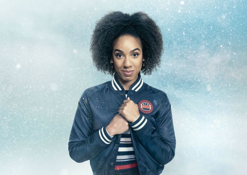 Pearl Mackie plays Bill Potts Doctor Who