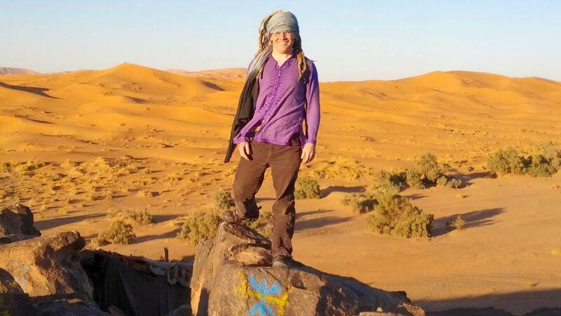 Johnnemann Nordhagen in Morocco