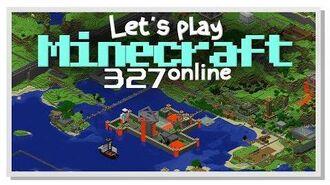 LP Minecraft online -327 - Leginel och Rocklance!